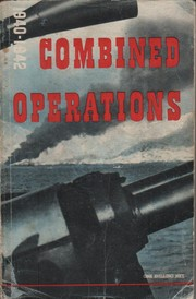Cover of: Combined operations 1940-1942 | Great Britain. Ministry of Information.