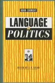 Cover of: Language and politics