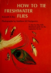 Cover of: How to tie freshwater flies