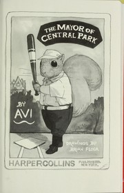 Cover of: The mayor of Central Park | Avi