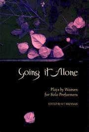Cover of: Going it alone