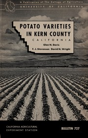 Cover of: Potato varieties in Kern County, California