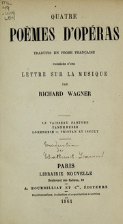 Operas by Richard Wagner