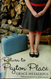 Cover of: Return to Peyton Place
