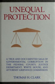 Cover of: Unequal protection