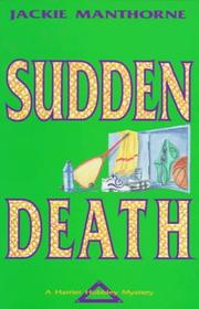 Cover of: Sudden death | Jackie Manthorne