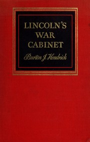Cover of: Lincoln's war cabinet