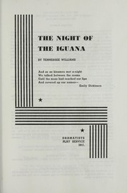 Cover of: Night of the Iguana