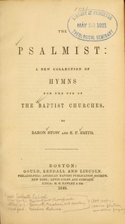 Cover of: The psalmist
