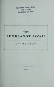 Cover of: The Rembrandt affair