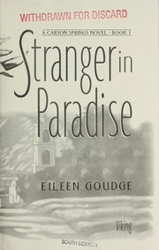 Cover of: Stranger in paradise | Eileen Goudge