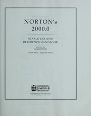 Cover of: Norton's 2000.0 star atlas and reference handbook (Epoch 2000.0). by Arthur P. Norton