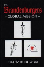 Cover of: The Brandenburgers Global Mission