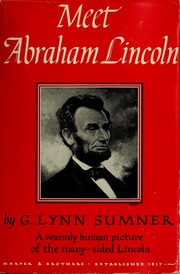 Cover of: Meet Abraham Lincoln