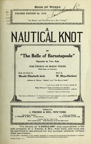 Cover of: A nautical knot