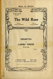 Cover of: The wild rose