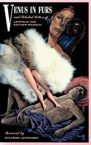 Cover of: Venus in Furs and Selected Stories