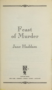 Cover of: Feast of Murder