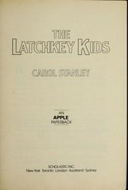 The Latchkey Kids