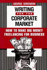 Cover of: Writing for the corporate market