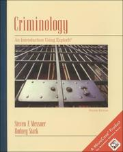 Cover of: Criminology: An Introduction Using ExplorIt