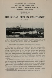 Cover of: The sugar beet in California