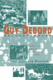 Cover of: Guy Debord | Len Bracken