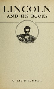 Cover of: Lincoln and his books