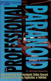Cover of: The Professional Paranoid