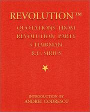Cover of: The revolution