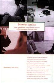 Cover of: Between Artists