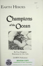 Cover of: Earth heroes: champions of the oceans