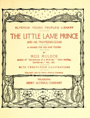 Cover of: The little lame prince