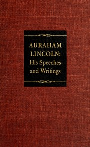 Cover of: Abraham Lincoln by Abraham Lincoln