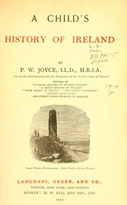 Cover of: A child's history of Ireland