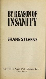 By reason of insanity book