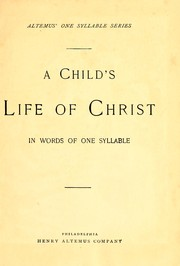 Cover of: A child