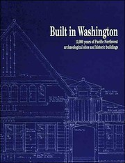 Cover of: Built in Washington