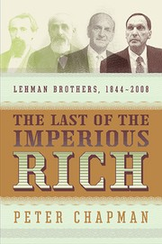 Cover of: The last of the imperious rich | Peter Chapman