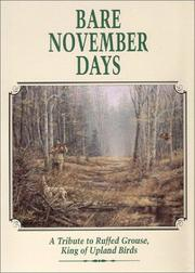 Cover of: Bare November Days