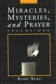 Cover of: Miracles, Mysteries, and Prayer (Volume 1)