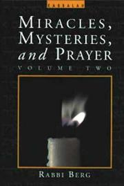 Cover of: Miracles, Mysteries and Prayer (Vol. 2)