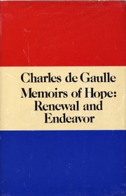 Cover of: Memoirs of hope: renewal and endeavor