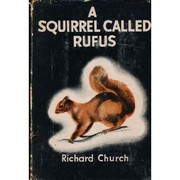 Cover of: A squirrel called Rufus