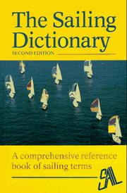 Cover of: The sailing dictionary