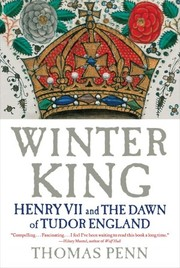 Cover of: Winter king | Thomas Penn