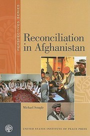 Reconciliation in Afghanistan