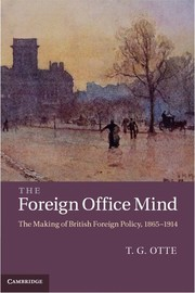 Cover of: The foreign office mind