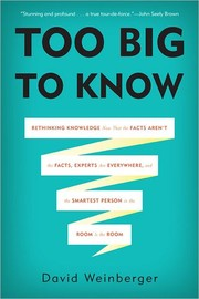 Cover of: Too Big to Know |