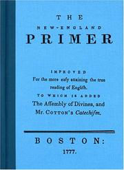 Cover of: New England Primer: Improved for the More Easy Attaining the True Reading of English | David Barton